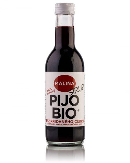 Bio sirup bez pridaného cukru MALINA 250ml