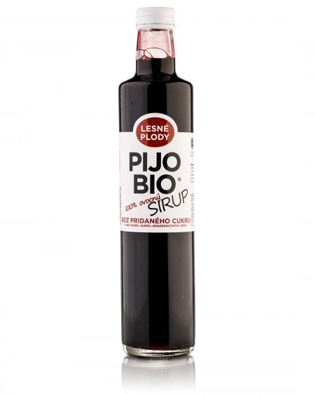 Bio sirup bez pridaného cukru LESNÉ PLODY