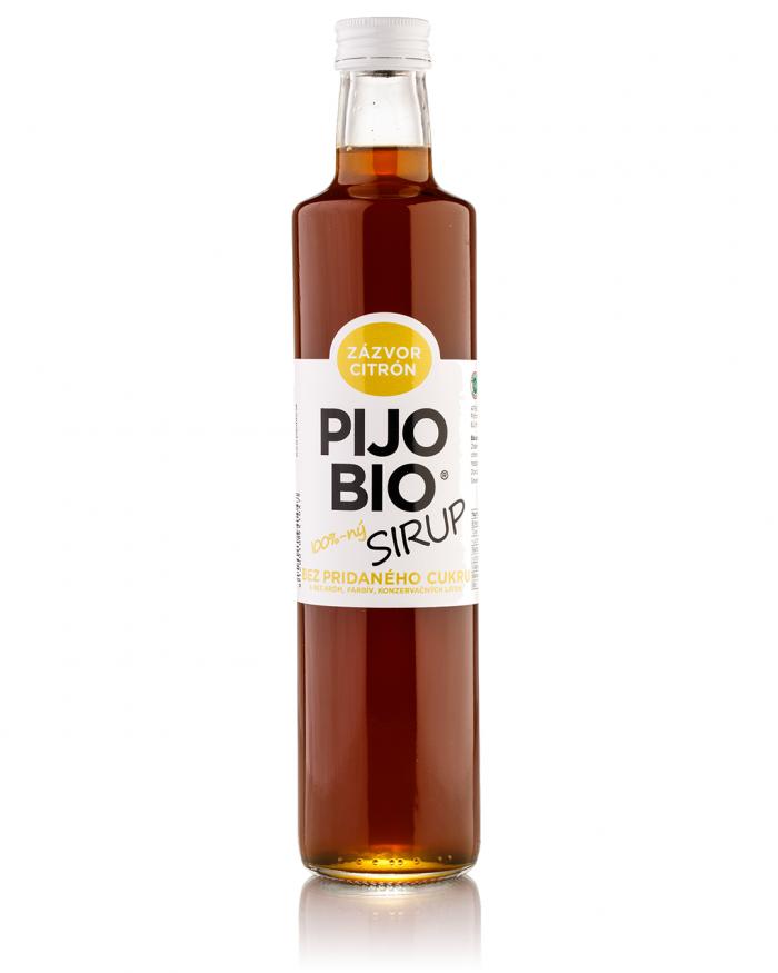 pijo-bio-500-zazvor-sirup